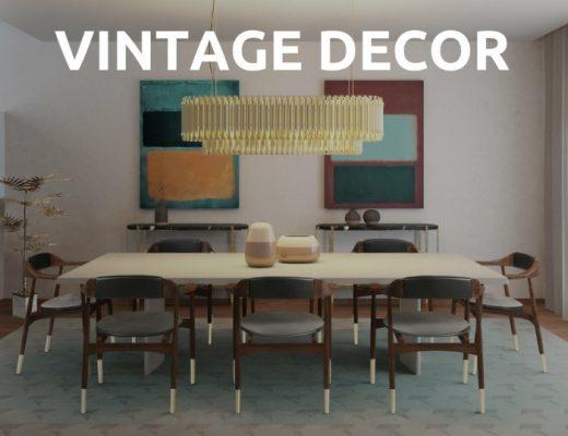 Interior Design with Vintage Ideas