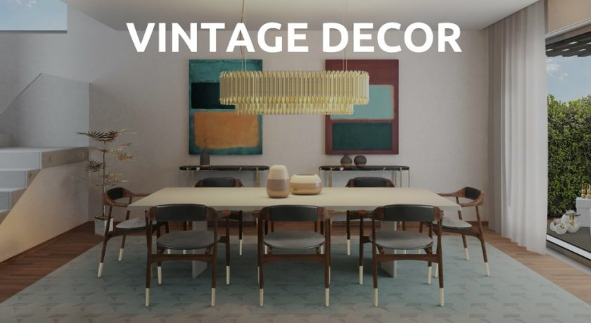 Interior Design with Vintage Ideas
